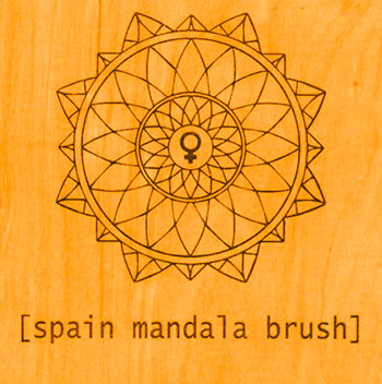 Spain - Mandala Brush