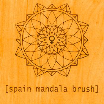 Spain - Mandala Brush