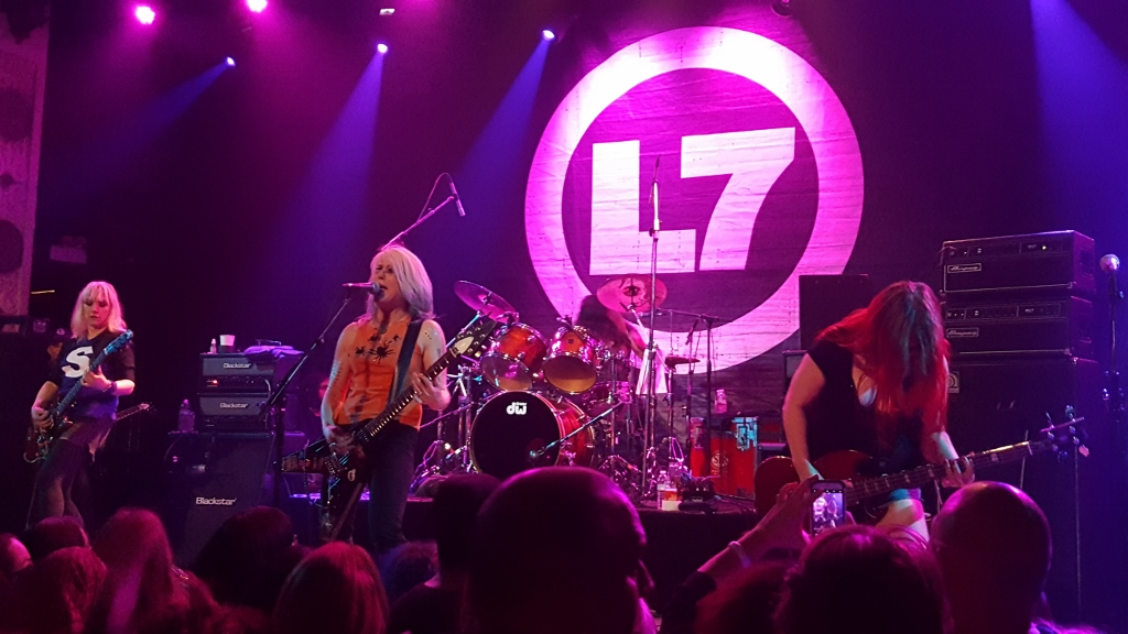 L7 - The Metro, Chicago