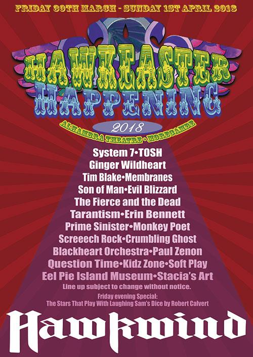 Hawkwind announce HawkEaster Happening festival