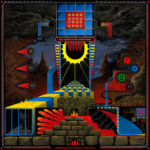King Gizzard announce 'Polygondwanaland' free album