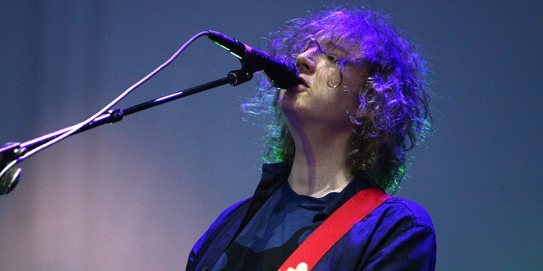 My Bloody Valentine play new track at Robert Smith's Meltdown