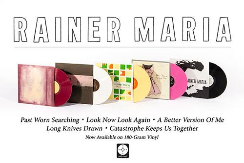 Polyvinyl to reissue Rainer Maria albums on vinyl
