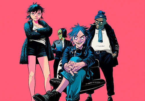 Gorillaz announce new album 'The Now Now'